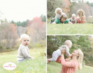 outdoor family portraits Boston