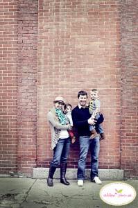 boston baby family photo urban