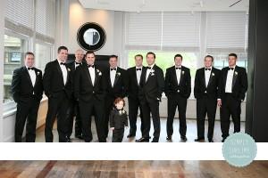 Groomsmen at Ames Hotel