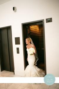 Bride at Ames Hotel