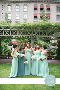 Post Office Square Bridal Pary