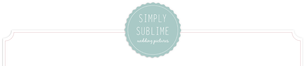 Simply Sublime Wedding Pictures logo